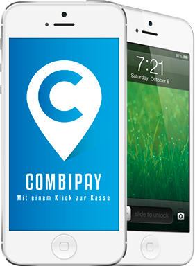 iphone mit Zahlungssystem CombiPAY